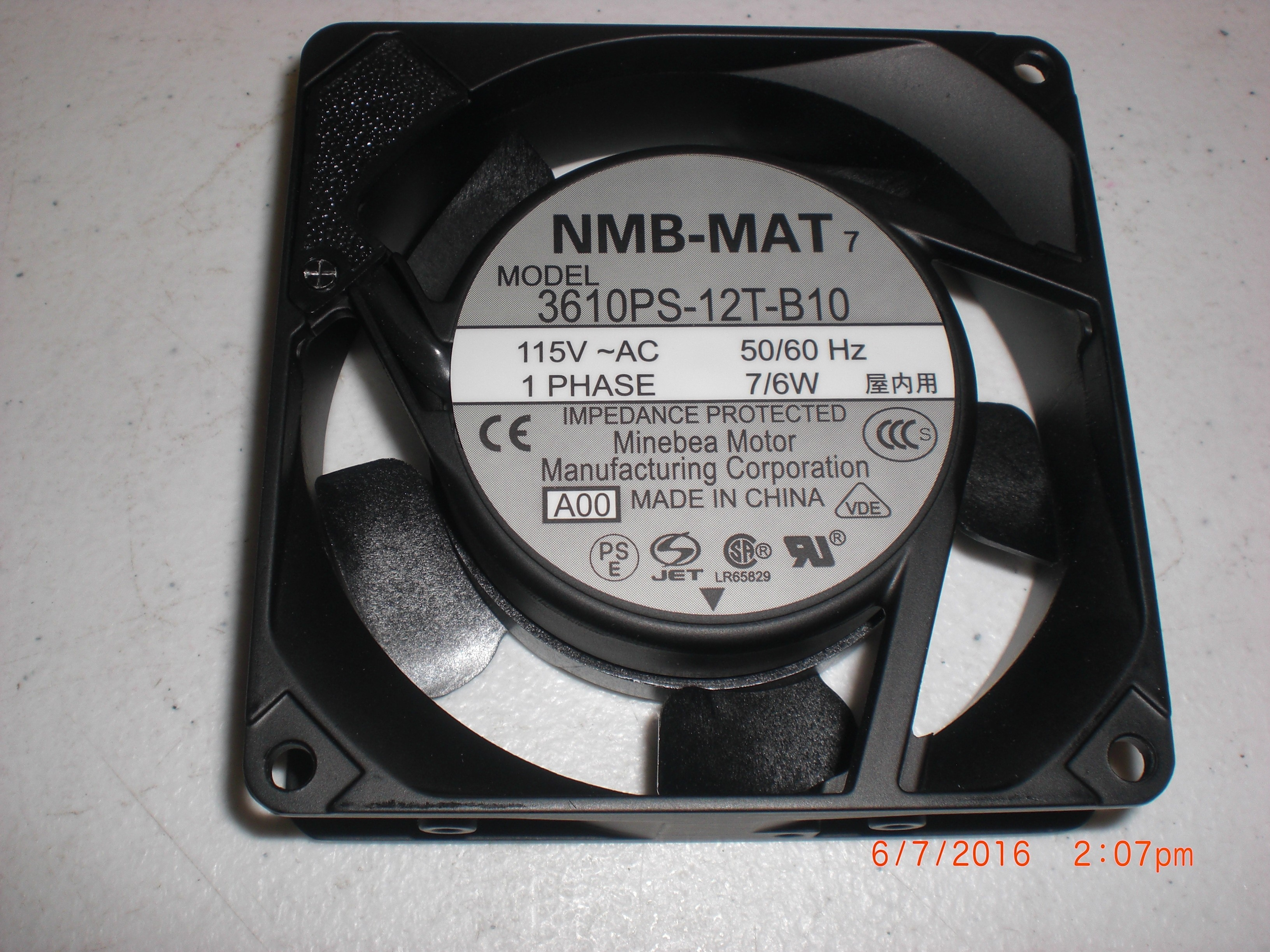 printers pbt hl mats nmb other cooling parts assembly fr more printer brother fan mat views