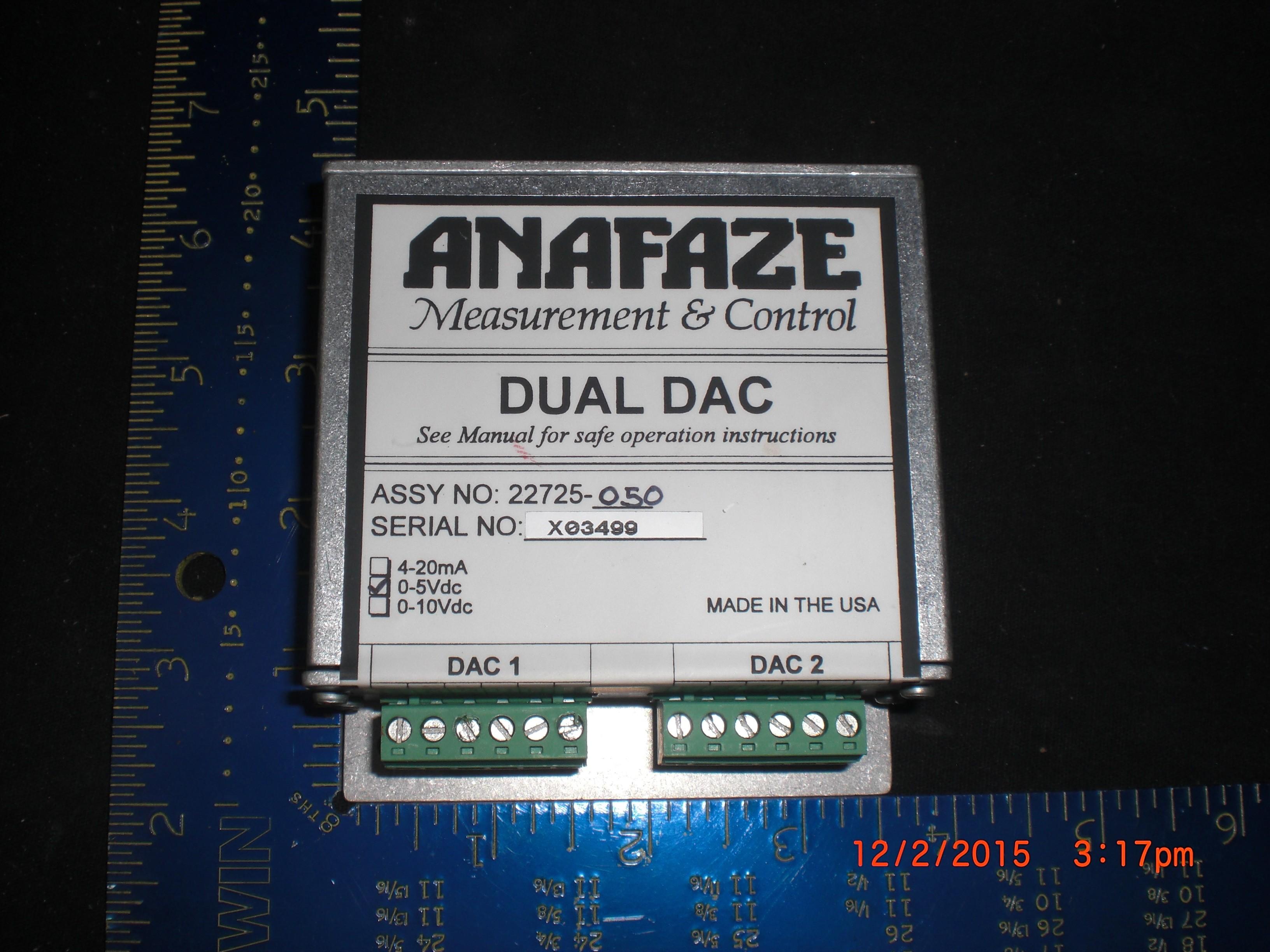 Instrument WATLOW 22725-050 Anafaze Dual DAC Transmitter