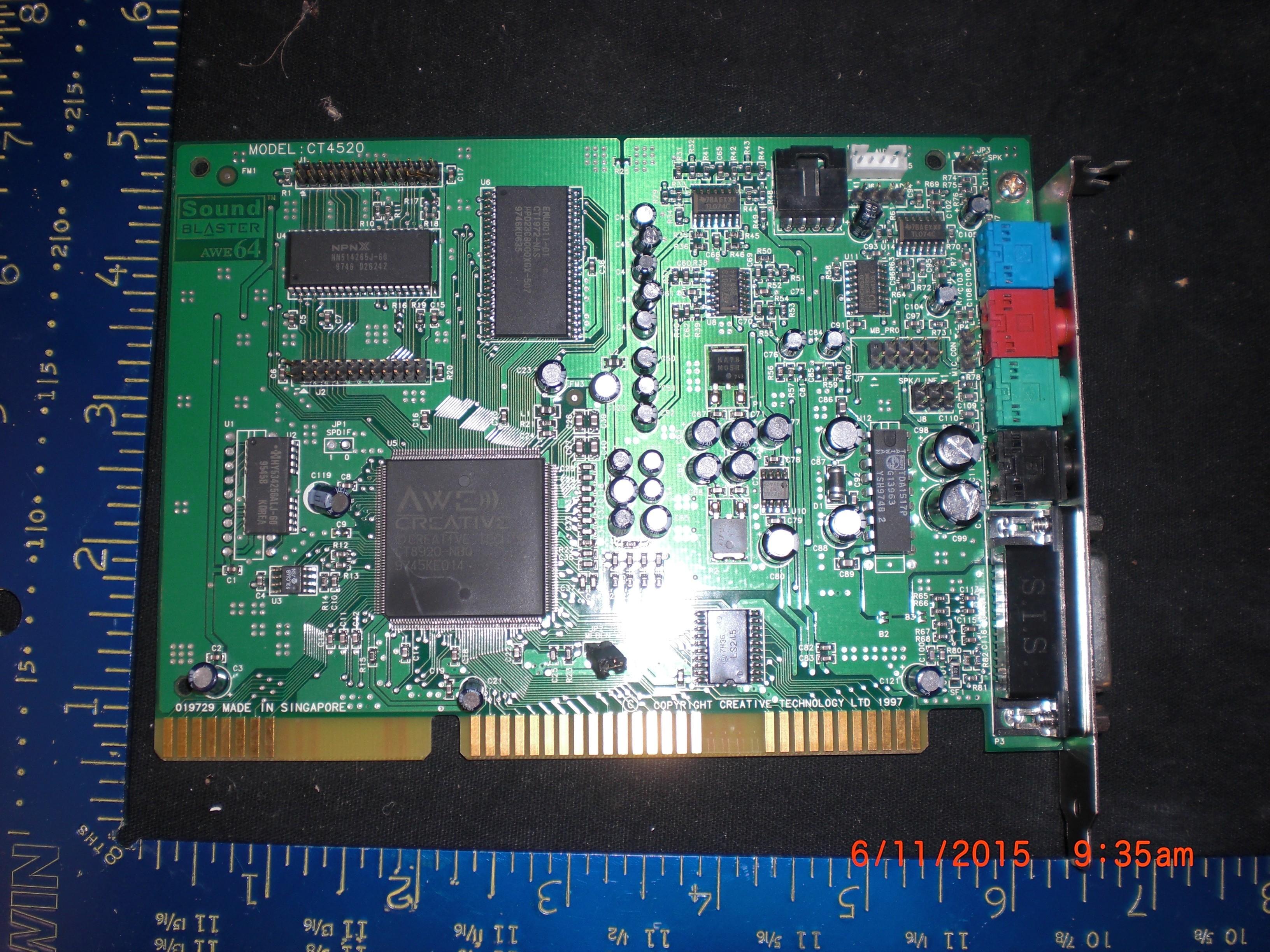 Sound Blaster AWE64